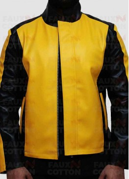 Cole Macgrath Infamous 2 Game Yellow Leather Jacket
