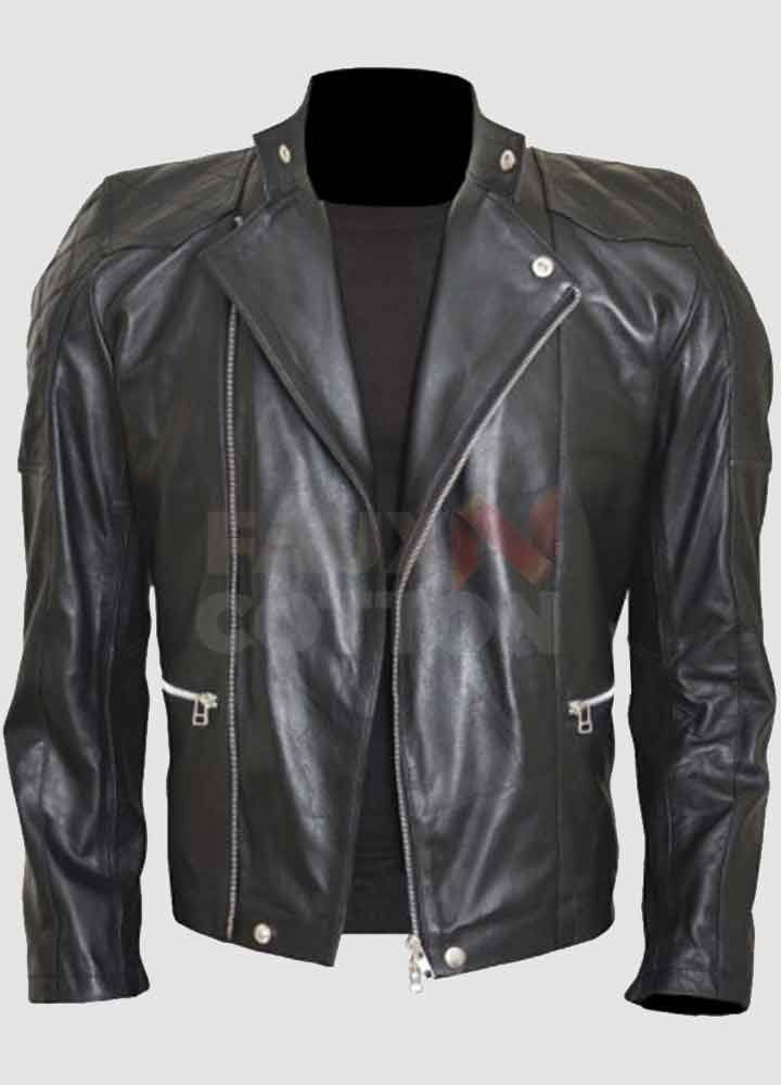 Billions Bobby Axelrod (Damian Lewis) Biker Leather Jacket