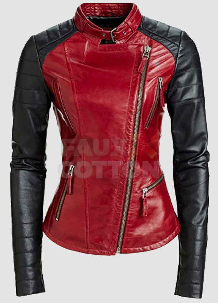 Beauty And The Beast Catherine Chandler (Kristen Kreuk) Red Jacket