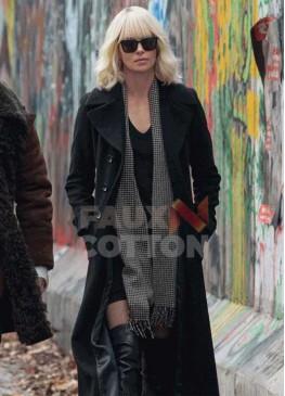 Atomic Blonde Charlize theron coat
