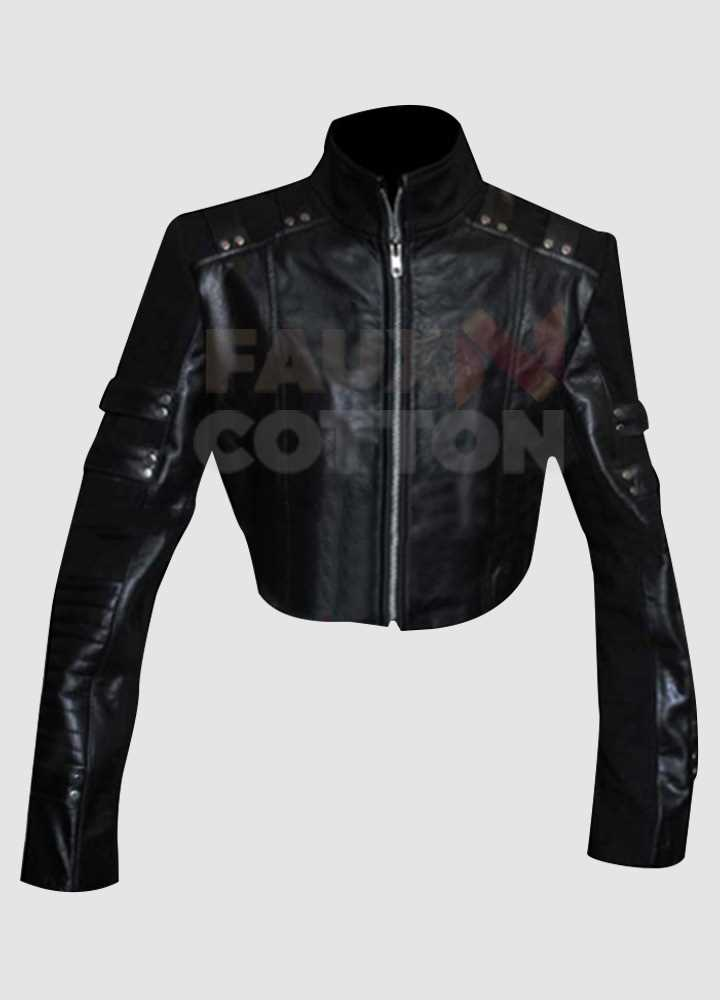 Arrow Black Canary Leather Jacket
