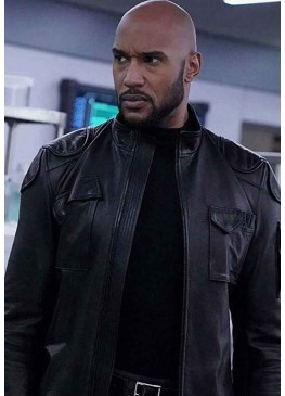 AGENTS OF SHIELD HENRY SIMMONS BLACK JACKET