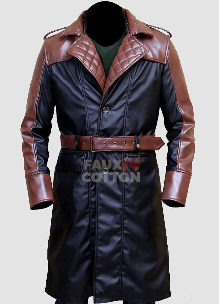 Assassin's Creed Syndicate Jacob Frye Faux/PU Leather Coat