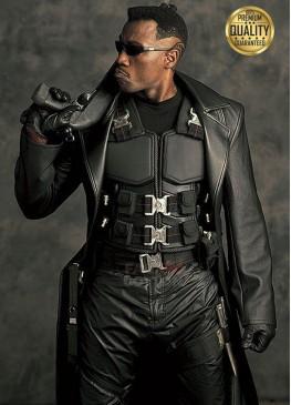 Blade Wesley Costume Trench Coat