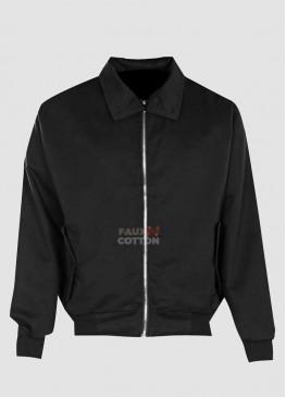 Cotton Harrington Black Mens Jacket