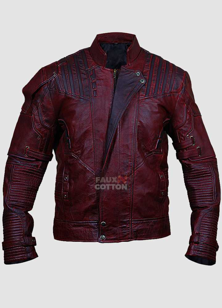 Guardians of the Galaxy 2 Starlord Distressed Jacket