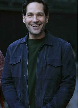 LIVING WITH YOURSELF PAUL RUDD (MILES ELLIOT) LEATHER JACKET