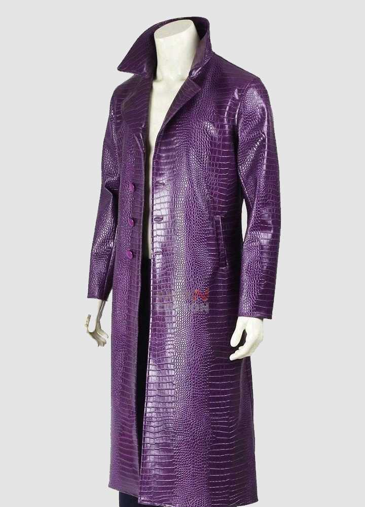 Joker Suicide Squad Jared Leto Coat