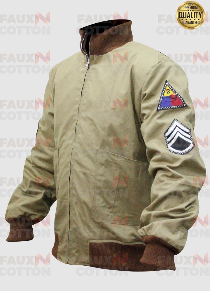 Fury Brad Pitt (Wardaddy) Tanker WW2 Jacket