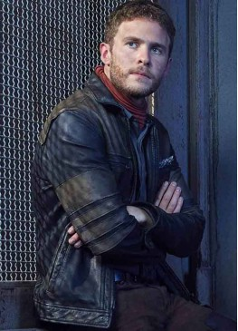 Agents Of Shield (Leo Fitz) Iain De Caestecker Black Leather Jacket