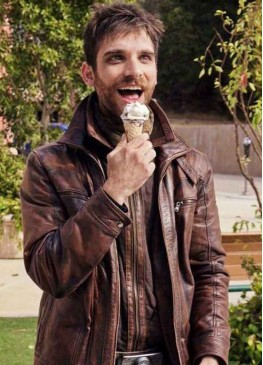 Agents of Shield Jeff Ward (Deke Shaw) Brown Leather Jacket