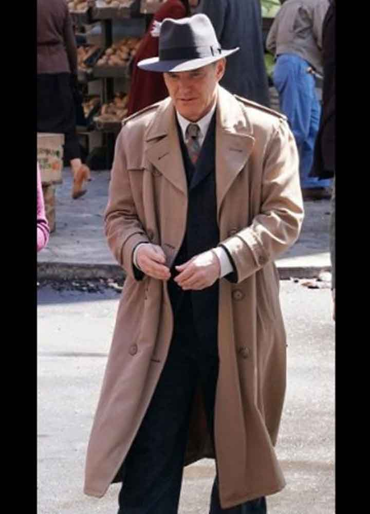 Clark Gregg Agents Of Shield S07 (Phil Coulson) Light Brown Cotton Coat