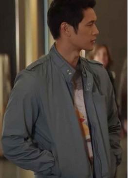 All My Life (Solomon 'Sol' Chau) Harry Shum Jr. Cotton Grey Jacket