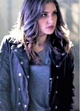 Arrow Season 7 (Dinah Drake) Juliana Harkavy Black Leather Jacket
