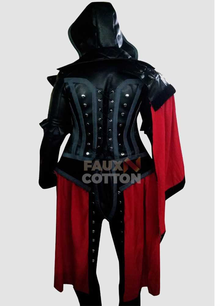 Assassin's Creed Syndicate Evie Frye Coat Leather Costume