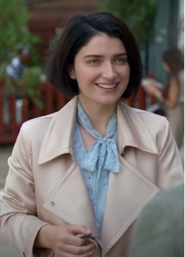 Behind Her Eyes (Adele) Eve Hewson Cotton Trench Coat