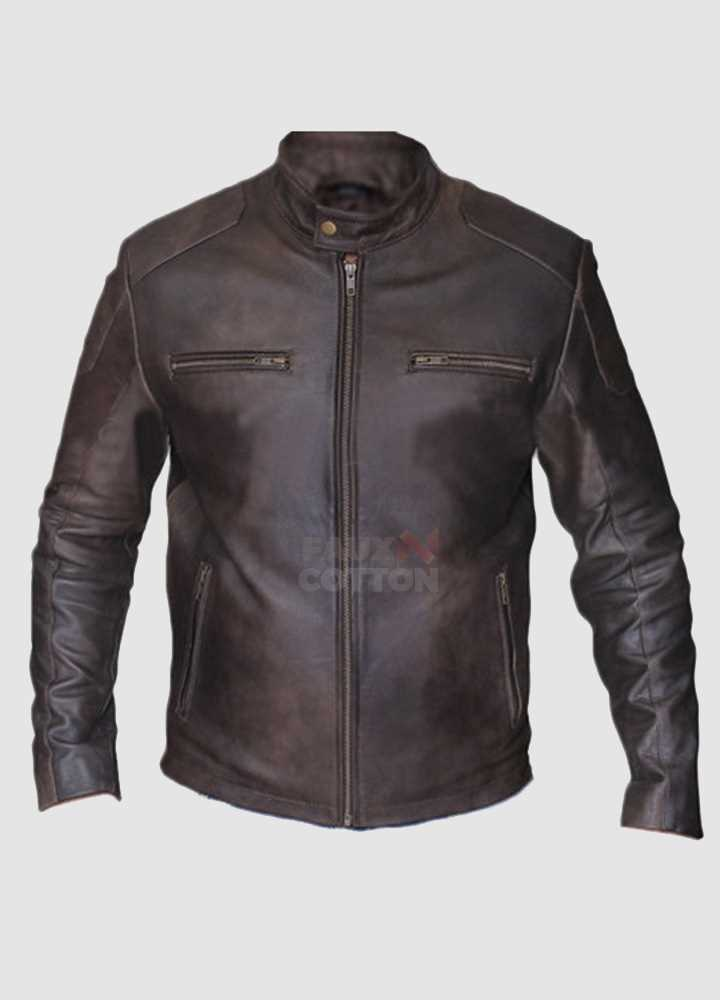 Captain America Civil War Chris Evans Brown Jacket
