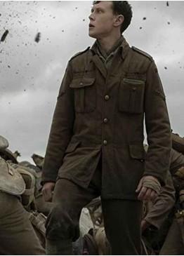 1917 Dean-charles Chapman (Lance Corporal Blake) Military Jacket
