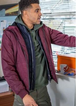 Emmerdale (Asan N'Jie) Ellis Chapman Bomber Jacket