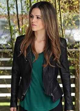 Take Two Sam Swift (Rachel Bilson) Black Leather Jacket