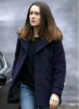 The Blacklist Elizabeth Keen  Blue Wool Jacket