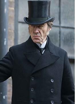 The Nevers Lord Massen Black Wool Coat