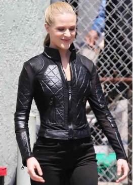 Westworld Season 3 (Dolores Abernathy) Evan Rachel Wood Black Leather Jacket