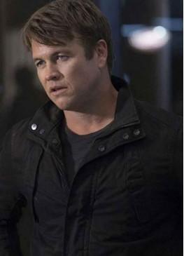 Westworld S03 (Ashley Stubbs) Luke Hemsworth Black Cotton Jacket