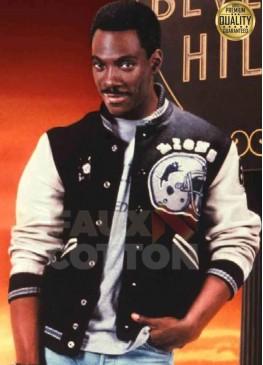 Beverly Hills Cop Axel Foley Detroit Lions Jacket