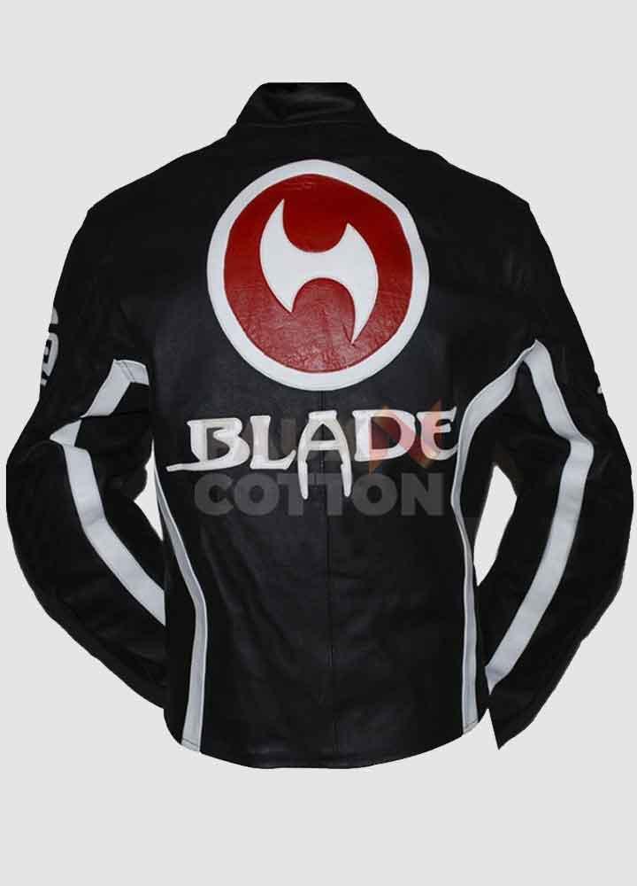 Blade Trinity Biker Leather Jacket