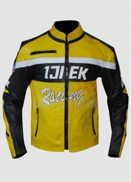 Dead Rising 2 Chuck Yellow Cosplay Warrior Jacket