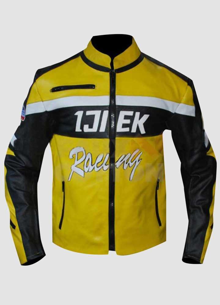 Dead Rising 2 Chuck Yellow Cosplay Warrior Jacket