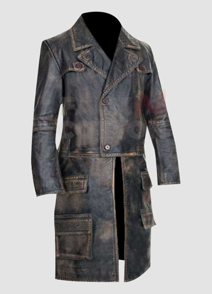 Defiance Nolan (Grant Bowler) Distressed Leather Costume