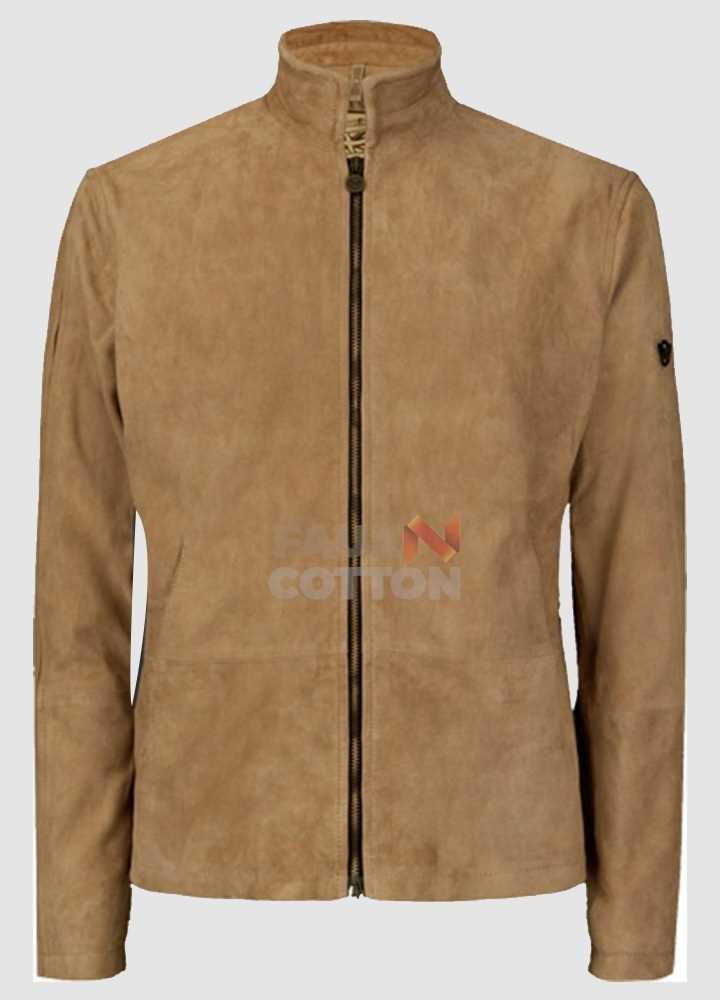 Spectre Daniel Craig Morocco Blouson Brown Jacket
