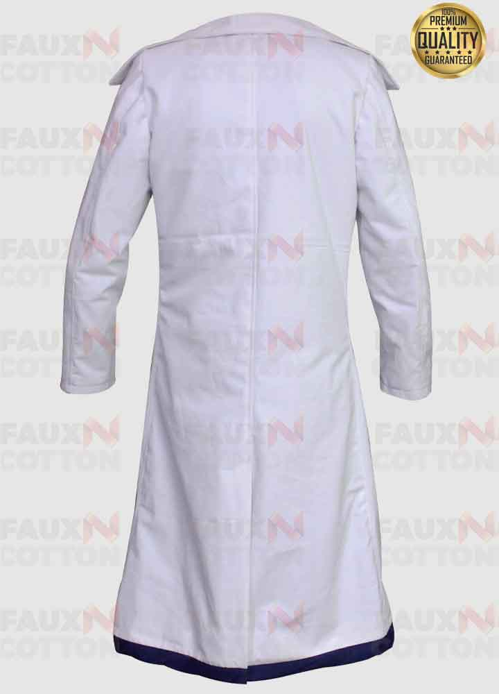 Anne Hathaway Intern Jules Ostin White Trench Coat