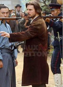 The Last Samurai Tom Cruise Suede Coat