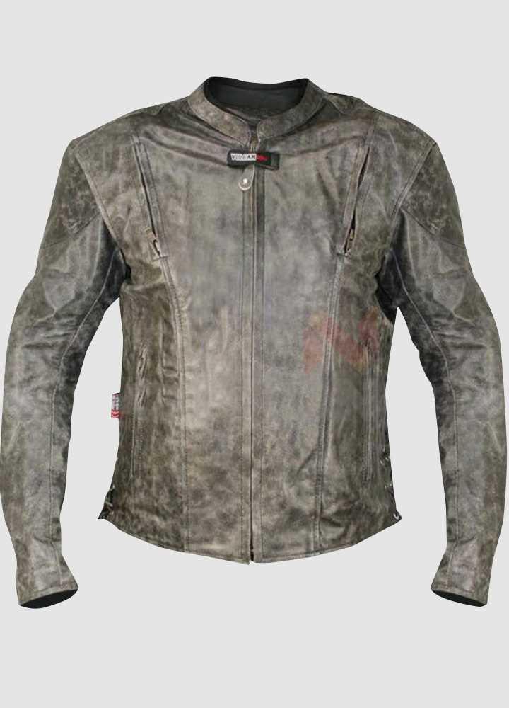 Vulcan NF-8150 Distressed Biker Leather Jacket