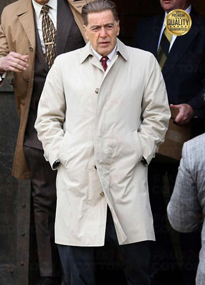 Al Pacino The Irishman Jimmy Hoffa White Coat