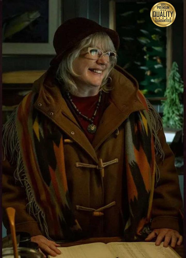 American God Season 3 Ann-Marie Hinzelmann Brown Coat
