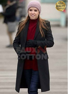 Anna Kendrick Love Life Darby Black Trench Coat