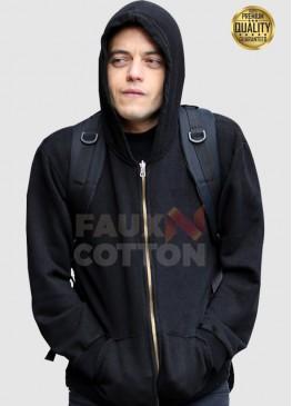 Mr Robot Rami Malek ( Elliot Alderson ) Hoodie Jacket