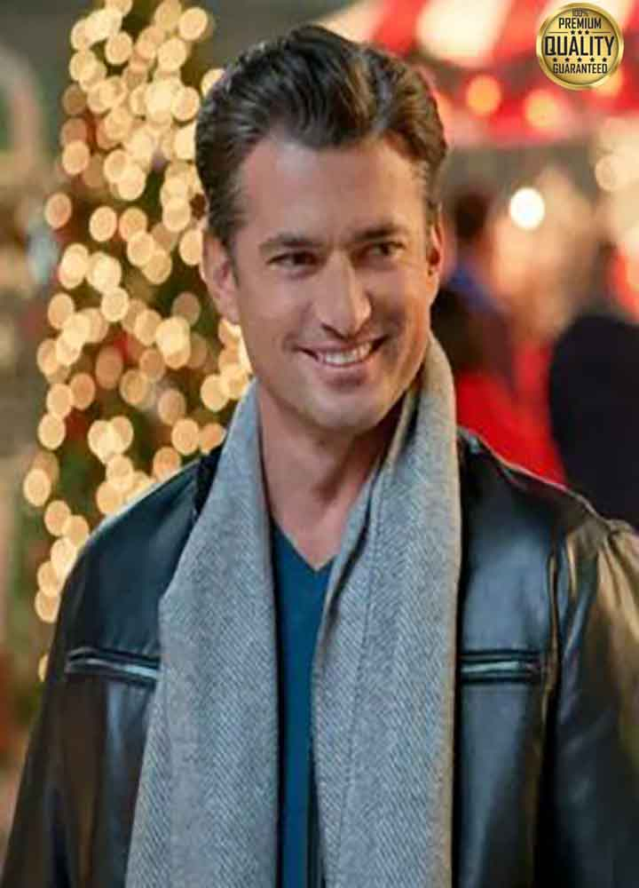 A Nashville Christmas Carol Gavin Chase Black Leather Jacket