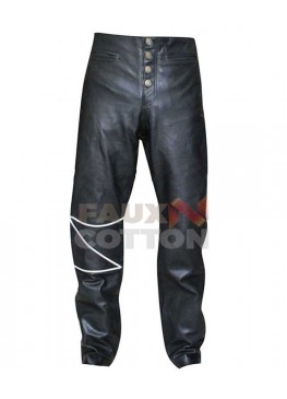 The Crow Movie Leather Pant