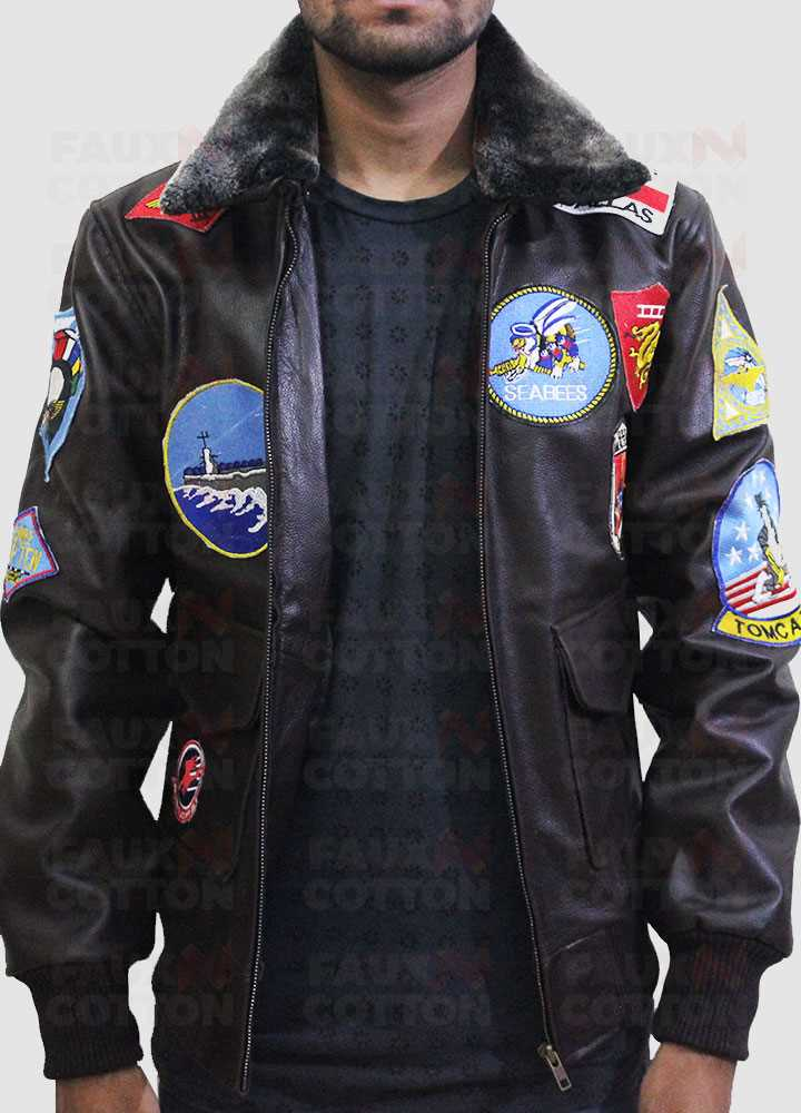 Top Gun Maverick Tom Cruise Leather Jacket