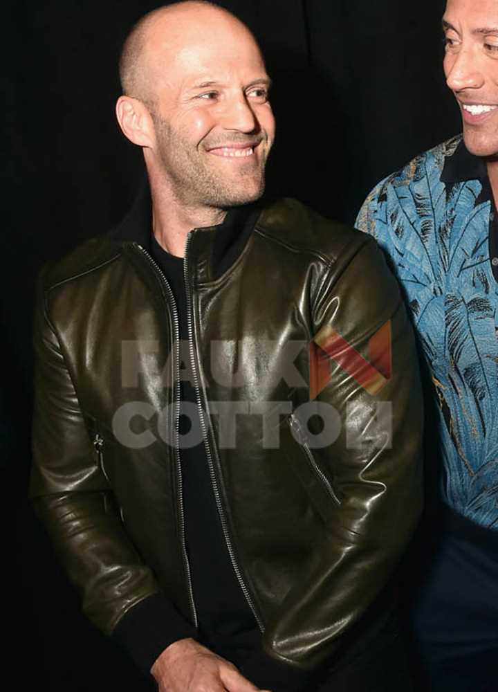 CinemaCon 2019 Jason Statham Jacket