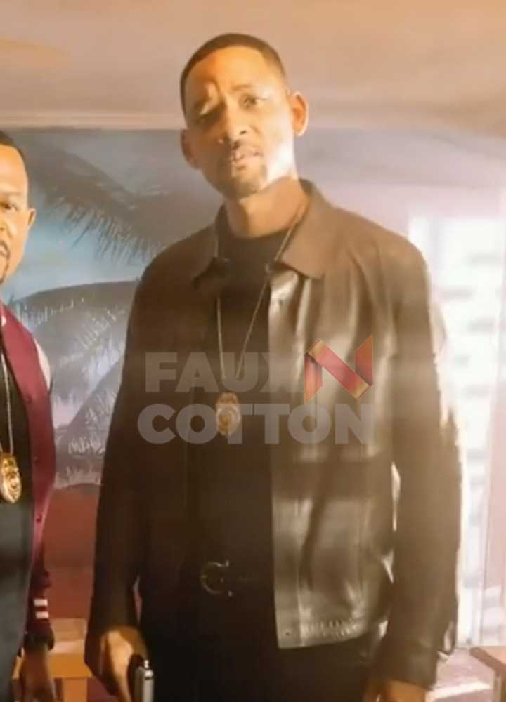 Bad Boys for Life Will Smith Leather Jacket