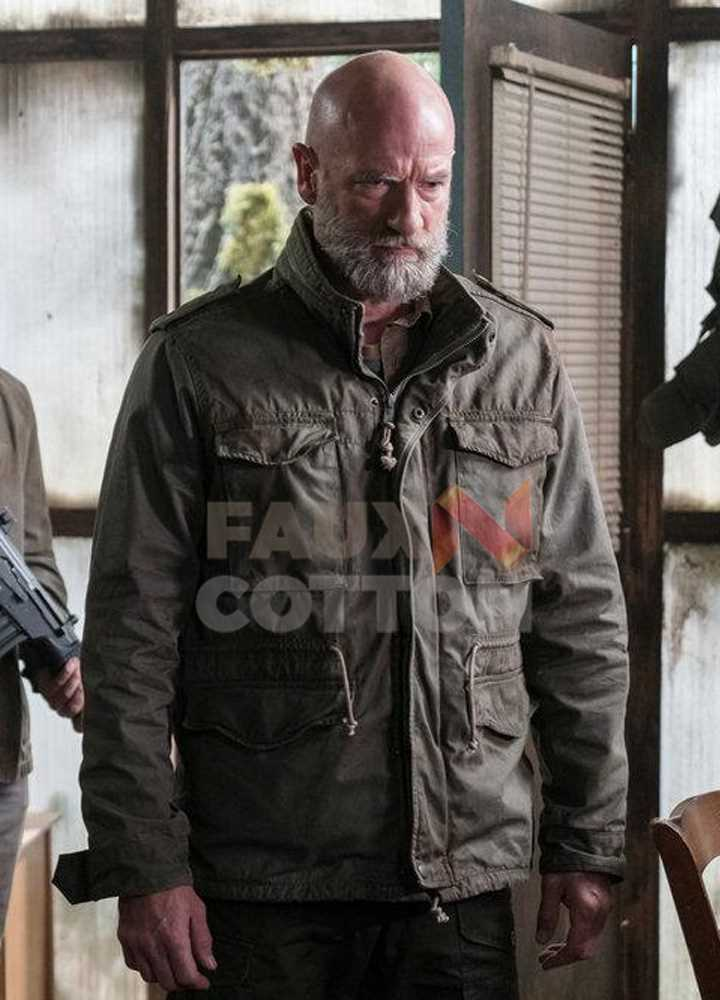 Colony Graham McTavish Leather Jacket