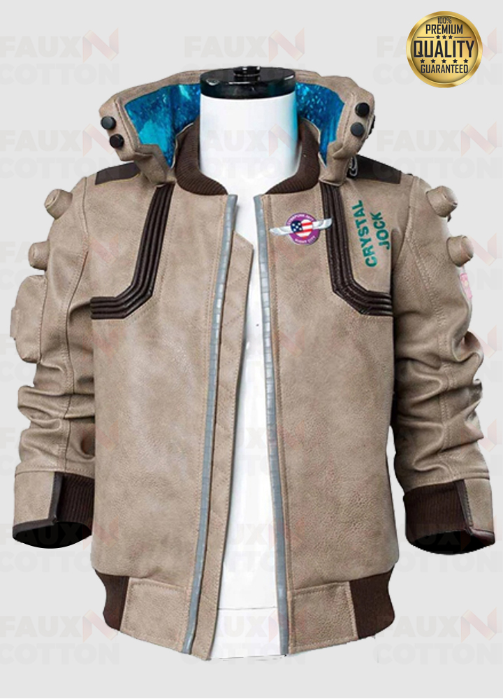 Cyberpunk 2077 Samurai Unisex Leather Jacket