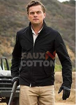 Once Upon a Time In Hollywood Leonardo Dicaprio Black Jacket