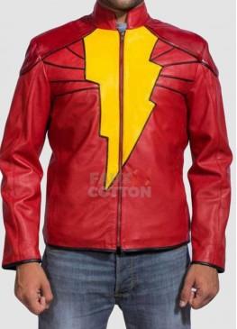 Captain Marvel Zachary Levi Shazam Costume Jacket